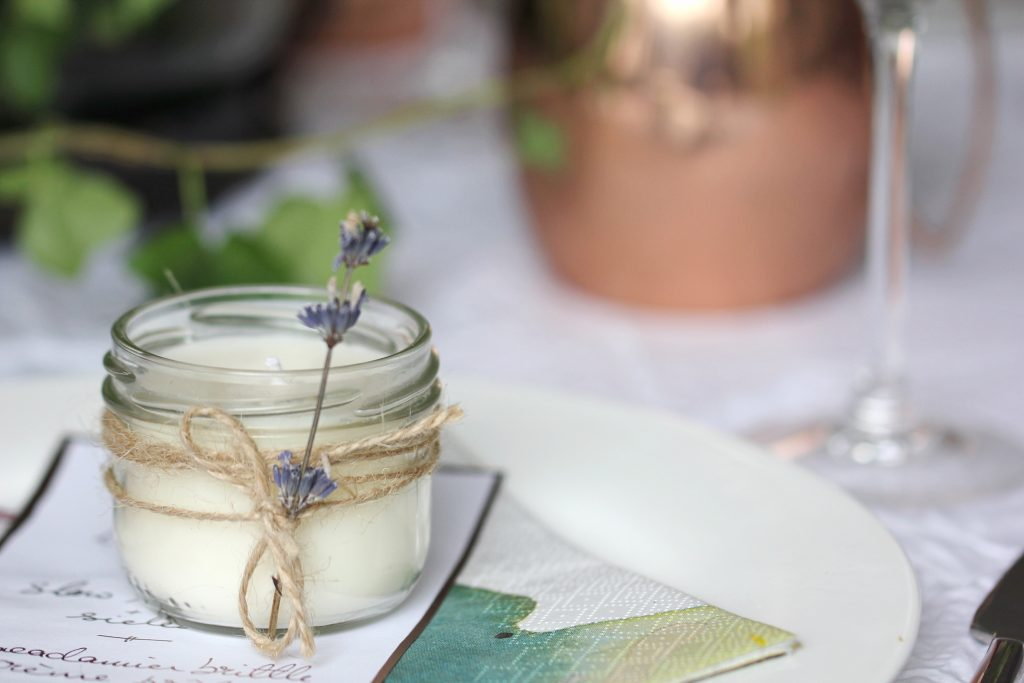 wedding scented candles